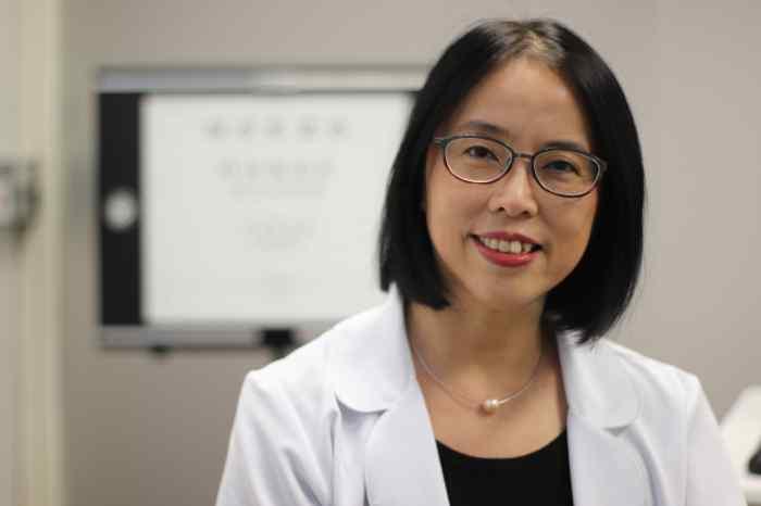Dr. Ashley Tuan at work