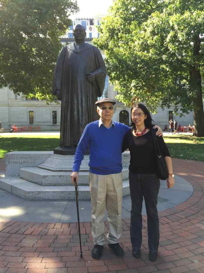 Nostalgic Ohio State tour with my father