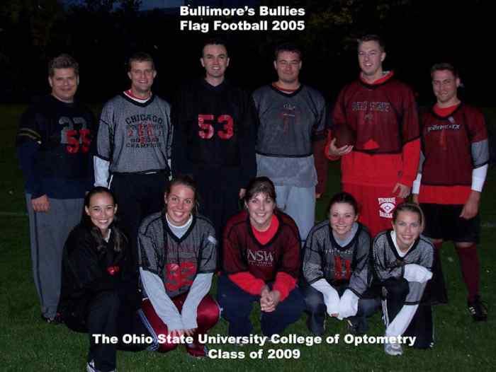 Bullimore's Bullies Flag Football 2005
