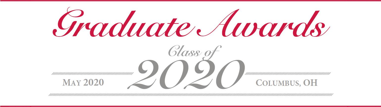 Class of 2020 Graduate Awards