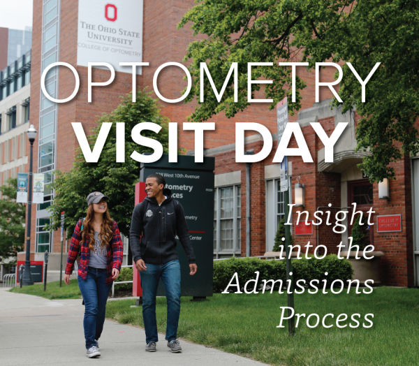 Main entrance to the Optometry Clinic and the College of Optometry