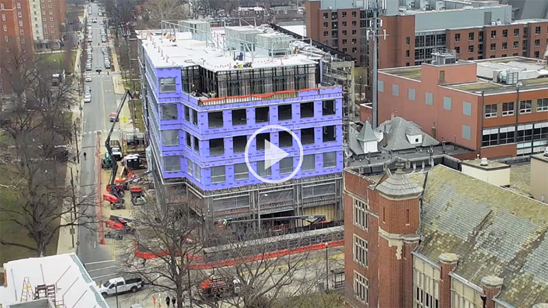 Link to live webcam view of construction