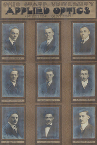 Ohio State University Applied Optics, Class of 1916