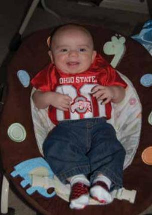 Newest grandchild - Sladen Scott Shoup