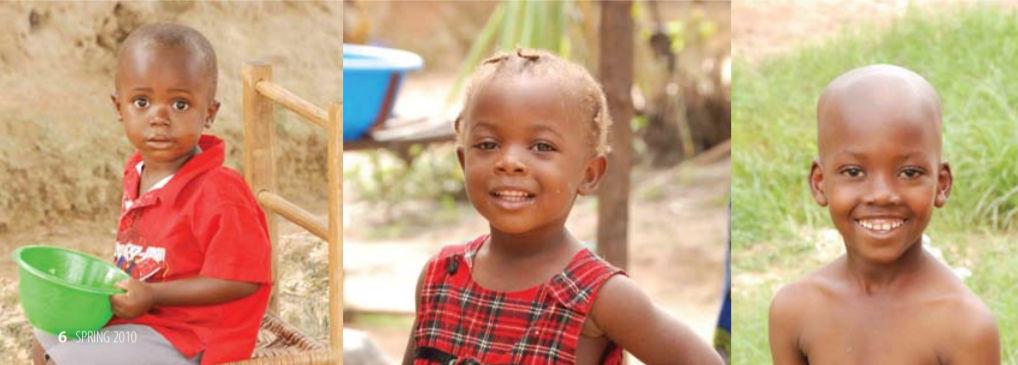 Some new friends in Liberia