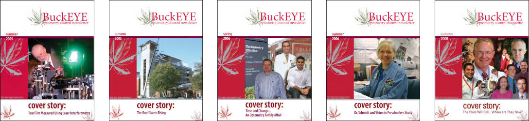 Magazine cover photos from 2005 to 2006